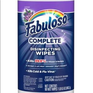 Fabuloso wipes 90 count